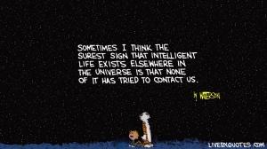 Calvin & Hobbes - Intelligent Life