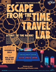 Time Travel Lab flyer